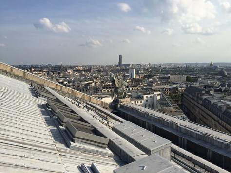 View from the roof of the Paris Opera