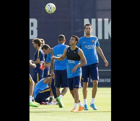 Pedro podría sustituir a Neymar ante el Sevilla