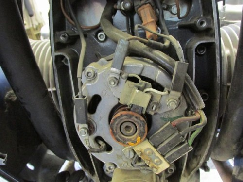 Alternator with Wiring