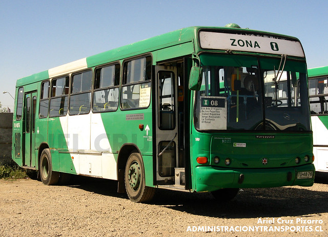Transantiago - Comercial Nueva Milenio / Buses Vule - Marcopolo Torino / Mercedes Benz (TU4876)