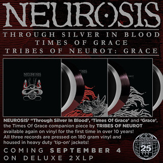 Neurosis re-issues flyer
