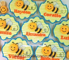 Personalized bumble bees