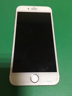 252_iPhone6のフロントパネル液晶割れ