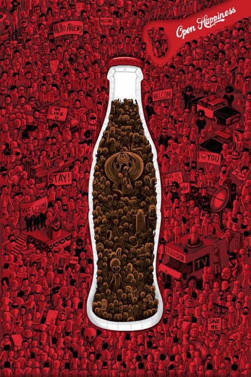 Coca-Cola - Aliens