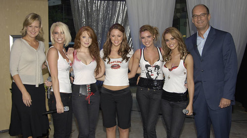 Girls Aloud visits Breaky Central