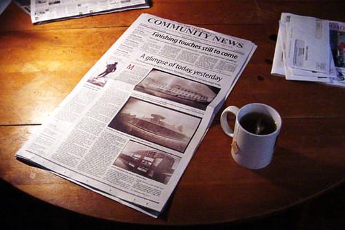 Periódico local – CC Imagen cortesía de Matt Callow