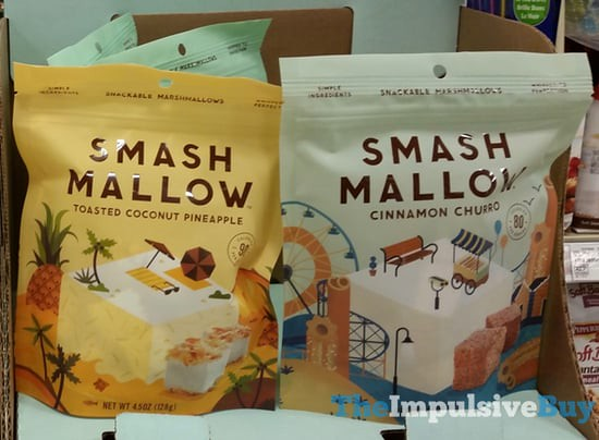 Smash Mallow (Toasted Coconut Pineapple and Cinnamon Churro)