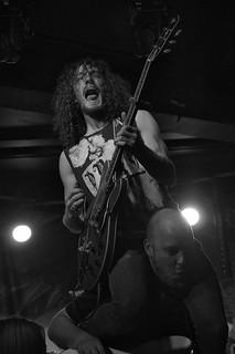 RavenEye live at the Limelight, Belfast, 31 July 2015