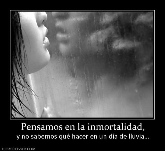 Lluvia inmortalidad