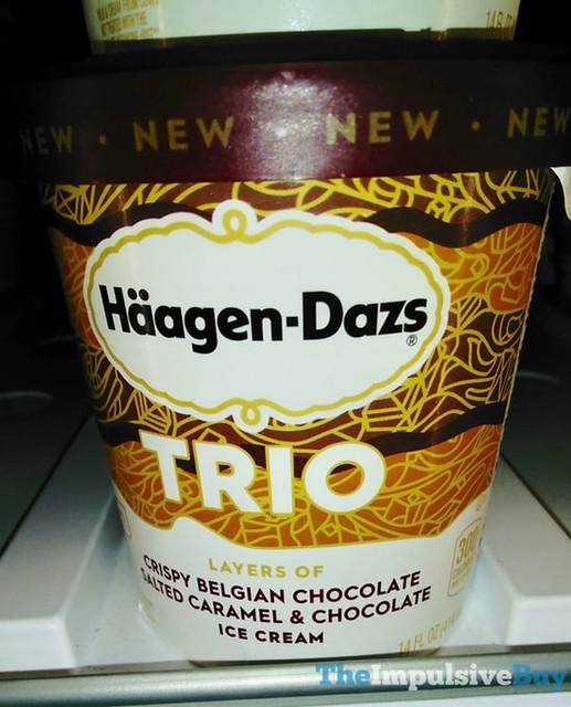 Ha?agen-Dazs Trio Salted Caramel & Chocolate Ice Cream