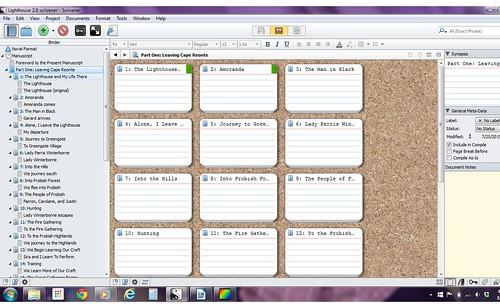 scrivener screenshot 2
