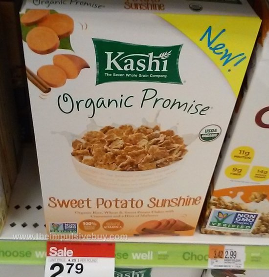 Kashi Organic Promise Sweet Potato Sunshine Cereal