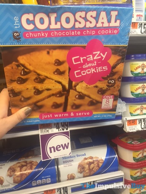 Crazy About Cookies The Colossal Chunky Chocolate Chip Cookie