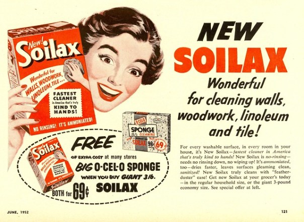 Soilax - published in Woman's Day - June 1952