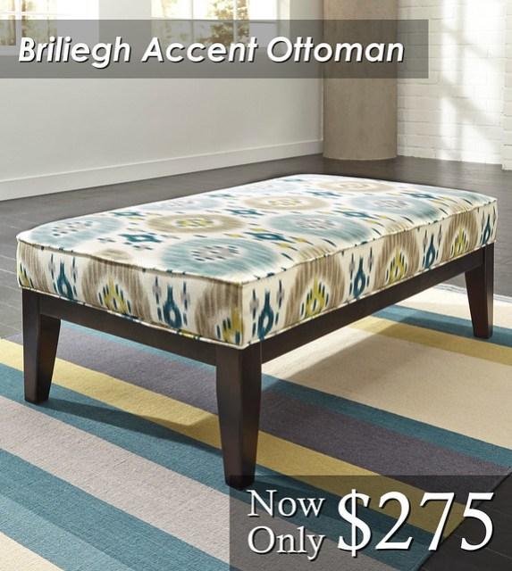 Briliegh Accent Ottoman