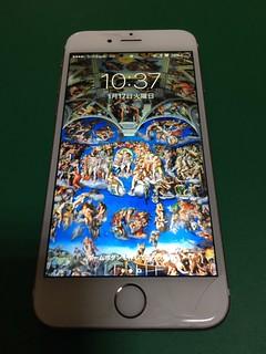 240_iPhone6Sのフロントパネルガラス割れ