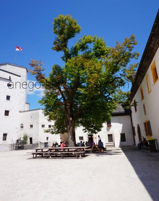 ザルツブルク 城