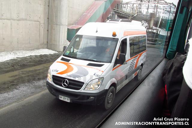 Link Services - Codelco El Teniente - Mercedes Benz Sprinter (GHZV37)
