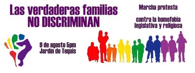 Anuncia marcha en pro de los derechos de la comunidad LGBT