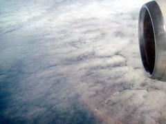 Coast + clouds