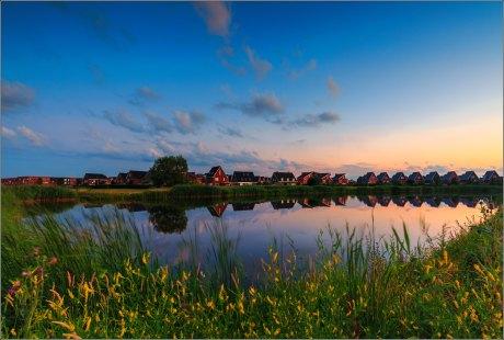 A colourfull summer evening in Arnhemse Schuytgraaf