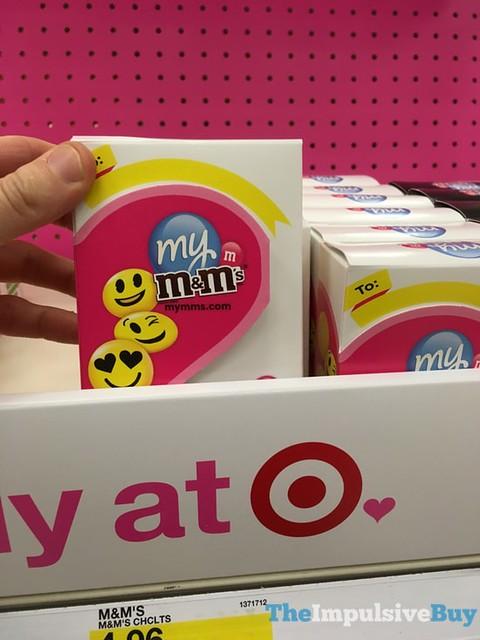 My M&M's Emoji White Box
