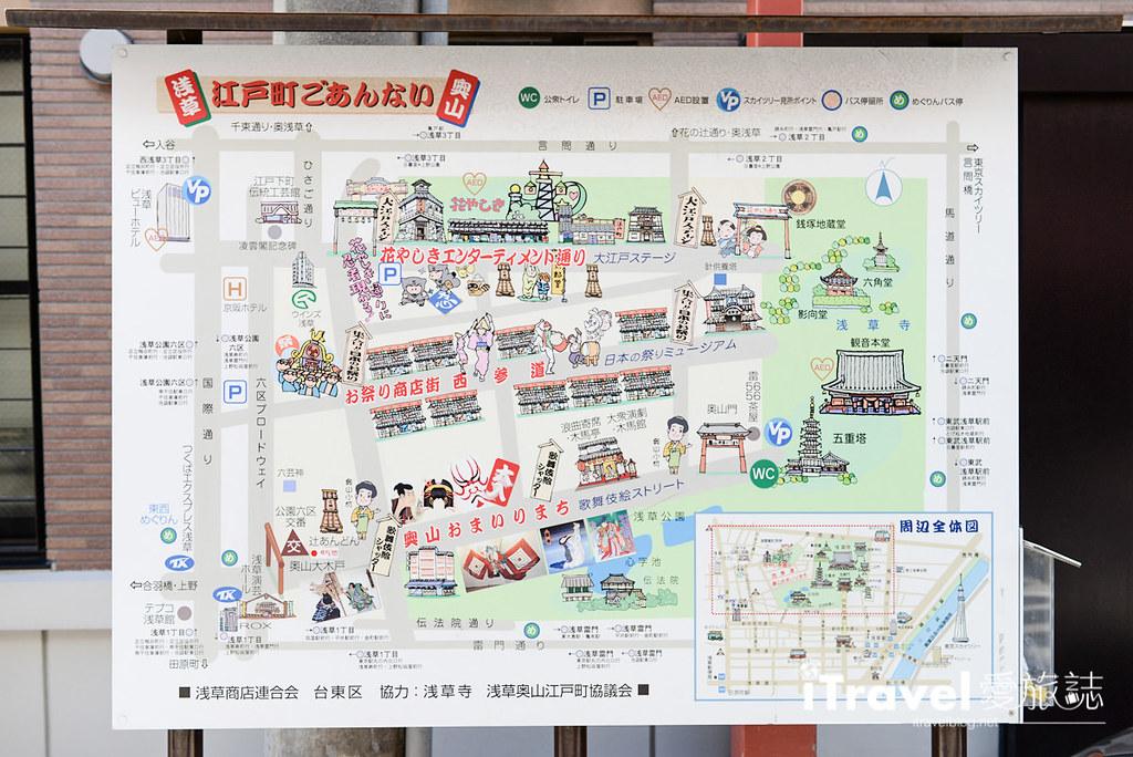 东京浅草购物 仲见世商店街 01
