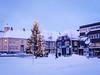 Christmas tree and taxi rank (1)