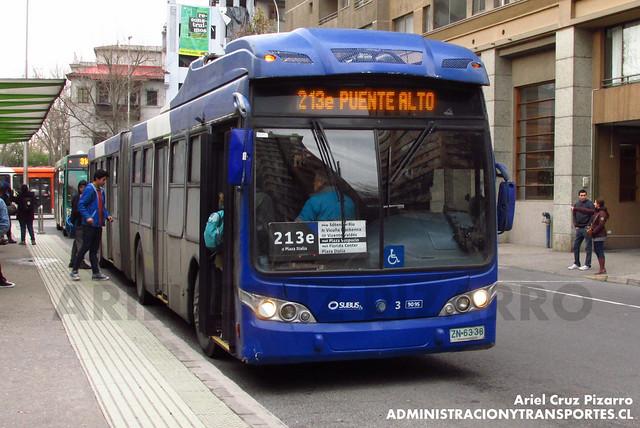 Transantiago - Subus Chile - Caio Mondego LA / Volvo (ZN6338)