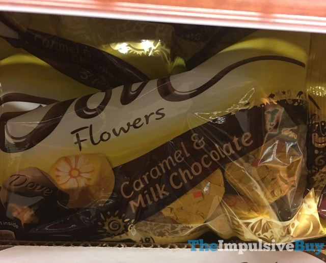 Dove Flowers Caramel & Milk Chocolate