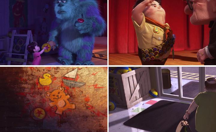 "Pixar-pallo   Pixar-elokuvien ""easter eggit"" - Disnerd dreams"