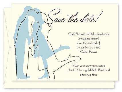 Photos Save the Date Invitation Card Ideas Homemade