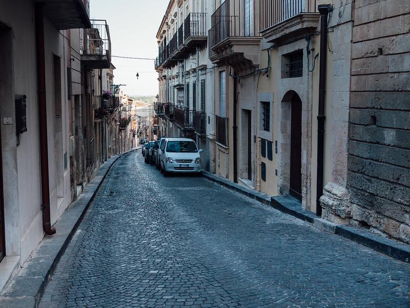 A street in Noto
