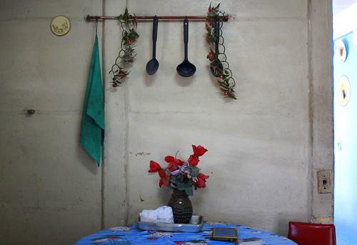 Grandmothe's kitchen, Suburbs, Havana, Cuba