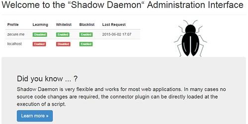 Shadow Daemon - Web Application Firewall