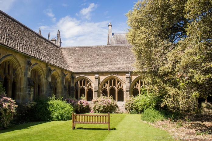 New College Oxford Courtyard