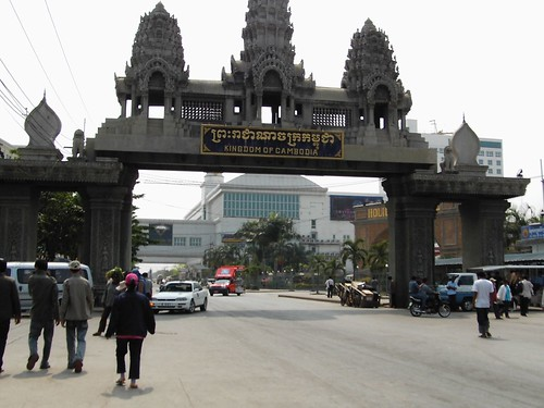 Poipet - welcome to Cambodia!