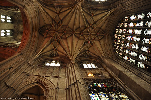 Ceilings of Canterbury Cathedrals
