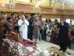 Welcome Sain Sadhram Sahib at Pooj Raherki Sahib (15)