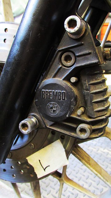Mount Left Side Caliper with Two Bolts