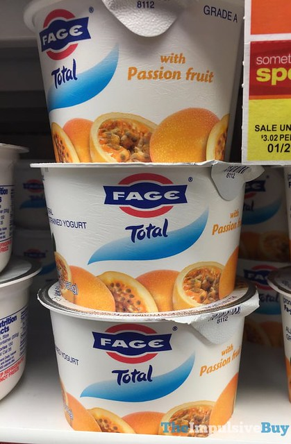 Fage Total Greek Yogurt with Passion Fruit