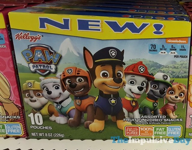 Kellogg's Paw Patrol Fruit Snacks