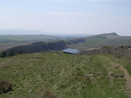 The view west from Hotbank Crags