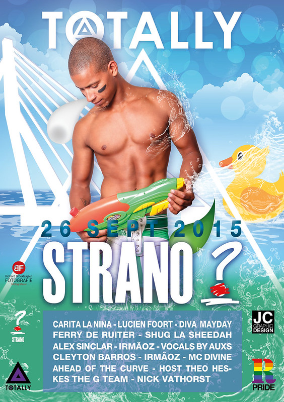Totally Strano (Rotterdam Pride) 26 september 2015