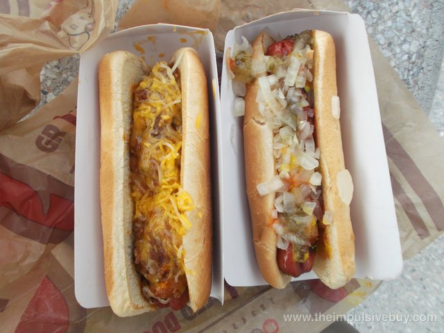 Burger King Flame Grilled Hot Dogs Review