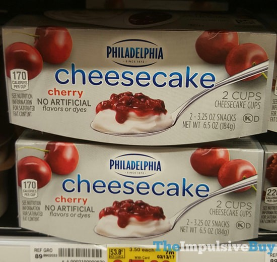 SPOTTED ON SHELVES: Philadelphia Cheesecake Cups