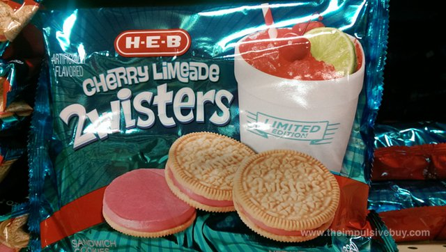 H-E-B Limited Edition Cherry Limeade 2wisters
