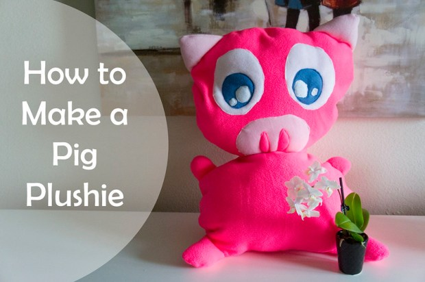 How to make a pig plushie