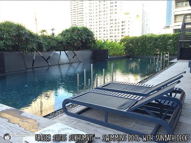 Fraser Suites Sukhumvit Swimming Pool