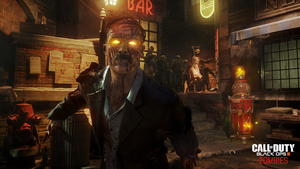 Call of Duty: Black Ops 3 - 'Shadows of Evil' Zombies Reveal Trailer 1